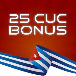 Cubacel Bonusaktion   25 CUC Gratis!