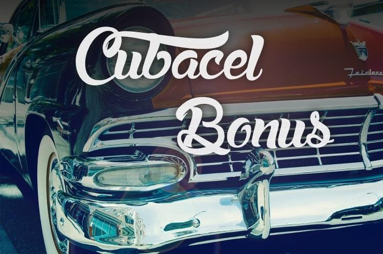 Cubacel September Bonus