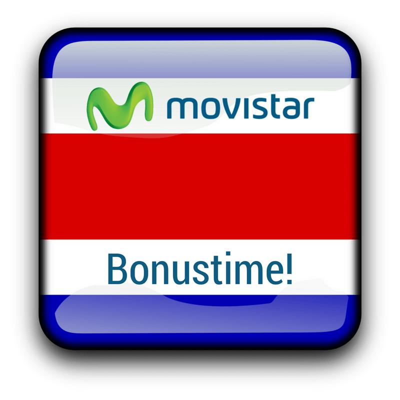 Bonusamount for Movistar Costa Rica customers